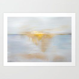 Gold Sunset Art Print