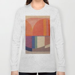Sailing in Splendid Sunrise Long Sleeve T-shirt