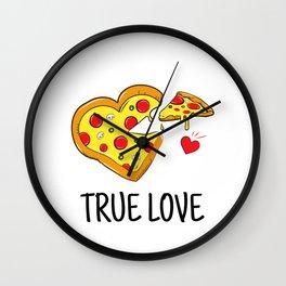 True Pizza Love Wall Clock
