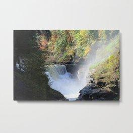 Letchworth Falls-Landscape Metal Print