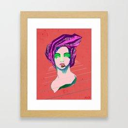Full Mouth Framed Art Print