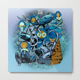 The Hyoeperian Water Tribe of The Northern Atlantean Seas Metal Print