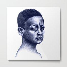 African boy Metal Print