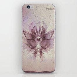 Endlos. Ziellos. iPhone Skin