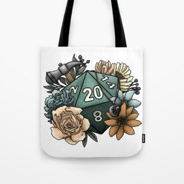 Cleric Class D20 - Tabletop Gaming Dice Tote Bag