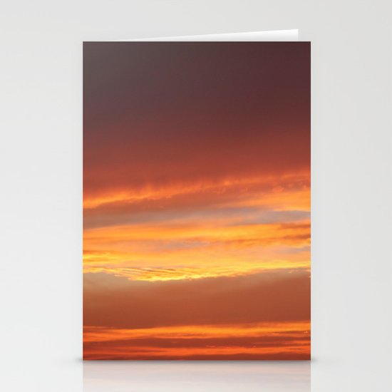 Red Evening Stationery Cards