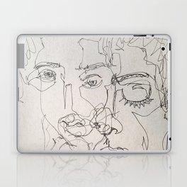 Blind Contour Laptop & iPad Skin