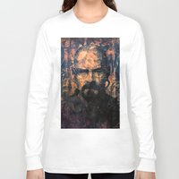 walter white Long Sleeve T-shirts featuring Walter White by Sirenphotos