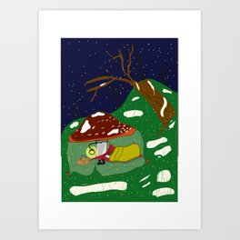 Sleep well Art Print