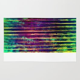 Syntax (Yellow + Green) Rug