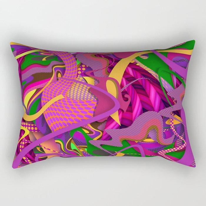 Passion Fruit Rectangular Pillow