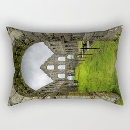 Ynysypandy Slate Mill Rectangular Pillow