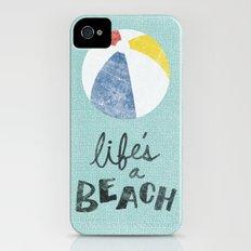 Life's a Beach. iPhone (4, 4s) Slim Case