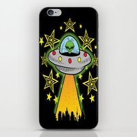 outer space iPhone & iPod Skins featuring OUTER SPACE by Amber's Realm