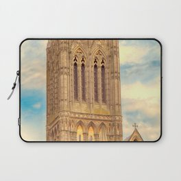 Central Tower of Lincoln Cathedral Laptop Sleeve