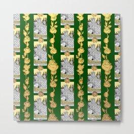 The Empress - A Floral Tarot Print Metal Print
