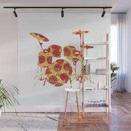 Pizza Beat Wall Mural