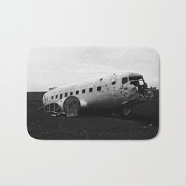 DC-3 Wreck II Bath Mat