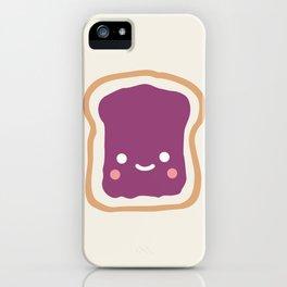 jelly sandwich iPhone Case