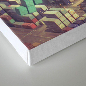 Pier Tetris Canvas Print