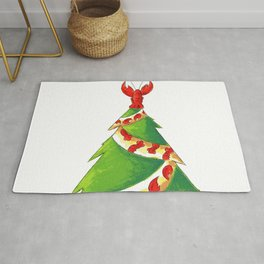 A Tree from New England Rug