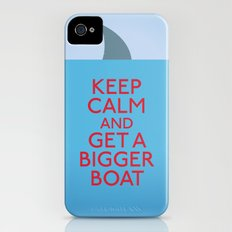 Get a bigger boat iPhone (4, 4s) Slim Case