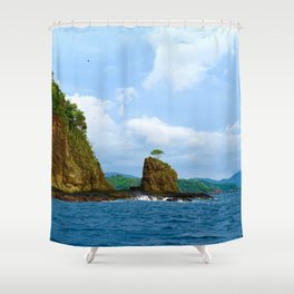 Playa Potrero Shower Curtain
