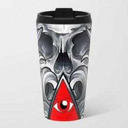Filigree Skull Travel Mug