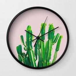"""""""DESERT GREENS"""" BY ROBERT DALLAS Wall Clock"""