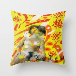 Homage to Balzac n.10 Throw Pillow