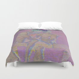 raw touch Duvet Cover