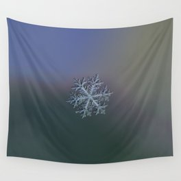Real snowflake - Hyperion dark Wall Tapestry