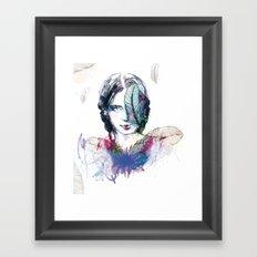 Plum' Framed Art Print