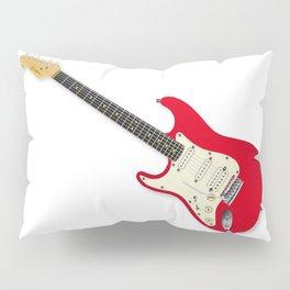 Left Handed Guitar Pillow Sham