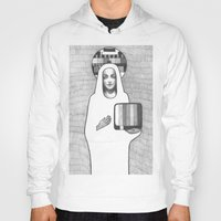 madonna Hoodies featuring tv madonna by Oxxygene