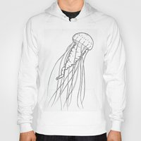 jelly fish Hoodies featuring Jelly by Little Mama
