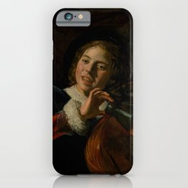 "Frans Hals ""Boy with a Lute"" iPhone Case"