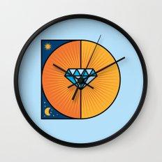D like D Wall Clock