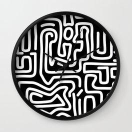 Tokyo Mon Amour - White Wall Clock