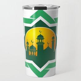 Symbol of Muslim Travel Mug