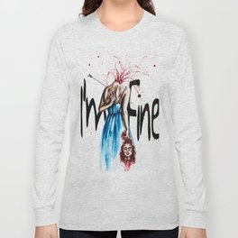 I´ m fine Long Sleeve T-shirt