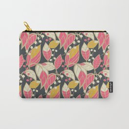 Leaves pattern 04 Carry-All Pouch