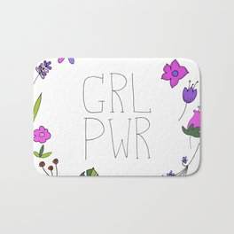 Girl Power Bath Mat