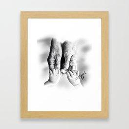 I Will Never Let You Go Framed Art Print