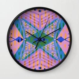 third eye center Wall Clock