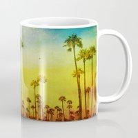 kerouac Mugs featuring California Love by Honey Malek