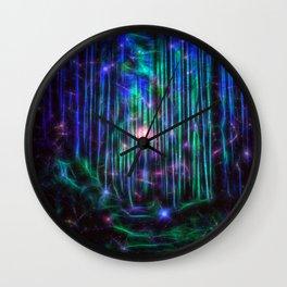 Magical Path ii Wall Clock
