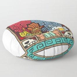 Aztec Beer Floor Pillow