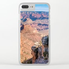 Morning at Bright Angel Trail - Grand Canyon Clear iPhone Case
