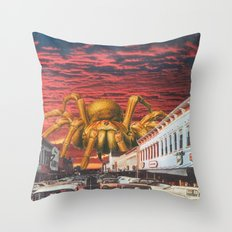 It Came From The Desert Throw Pillow
